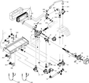 Hydraulic Temperature Switch together with Massey Ferguson 245 Tractor Parts Diagram as well 66 Mustang Under Dash Wiring Harness besides 1993 Club Car Golf Cart Wiring Diagram as well Auto Car Reverse Lights Wiring Diagram. on wiring diagram murphy switch